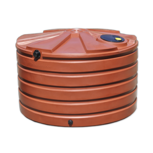 Rain Barrel - 1110 Gallon Tank - Round Plastic - Sacramento CA