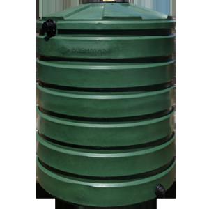 Rain Barrel - 420 Gallon Tank - Round Column Plastic - Sacramento CA