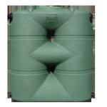 Rain Barrel Tank - 265 Gallons - Plastic - Sacramento, CA